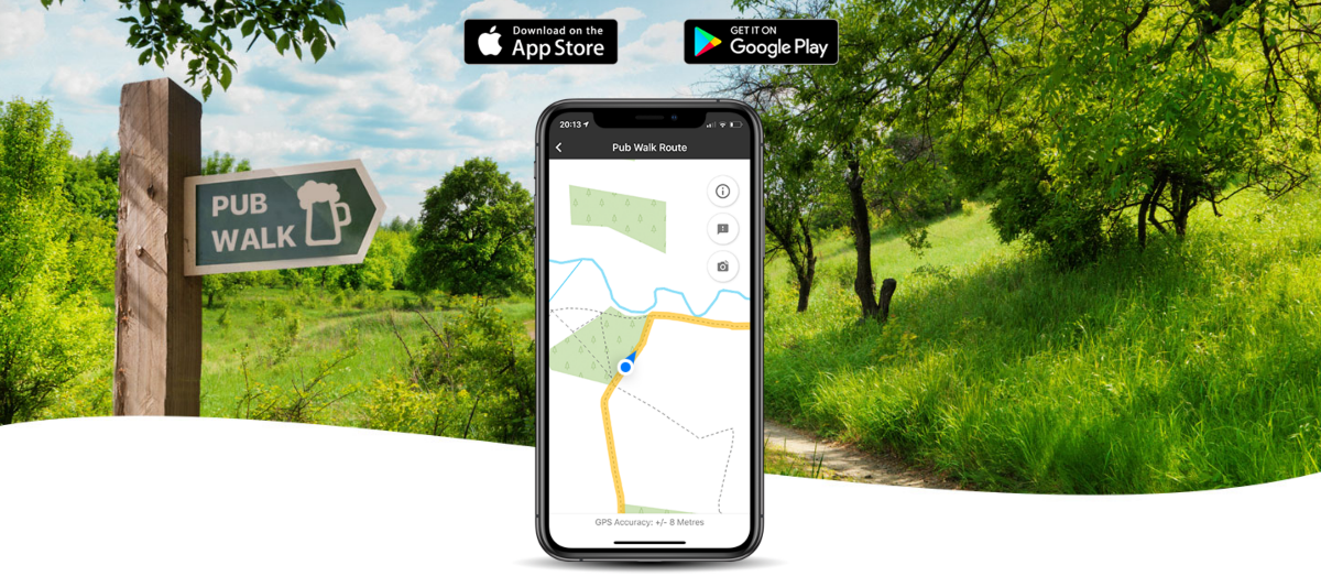Find a walk near you - 10 free walking apps